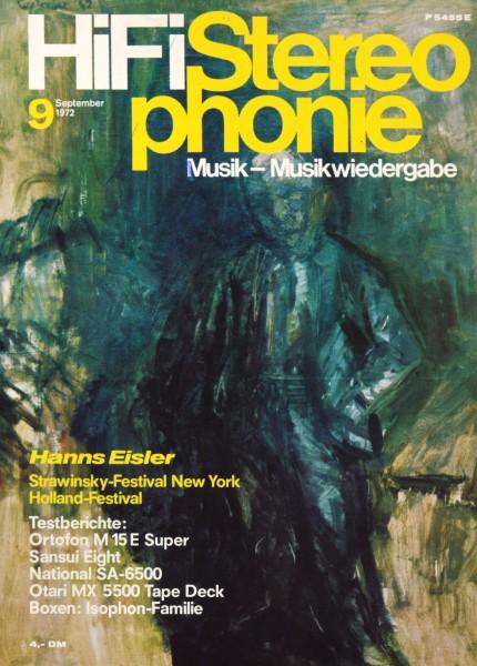 Hifi Stereophonie_9/1972 Zeitschrift_1
