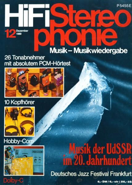 Hifi Stereophonie_12/1980 Zeitschrift_1
