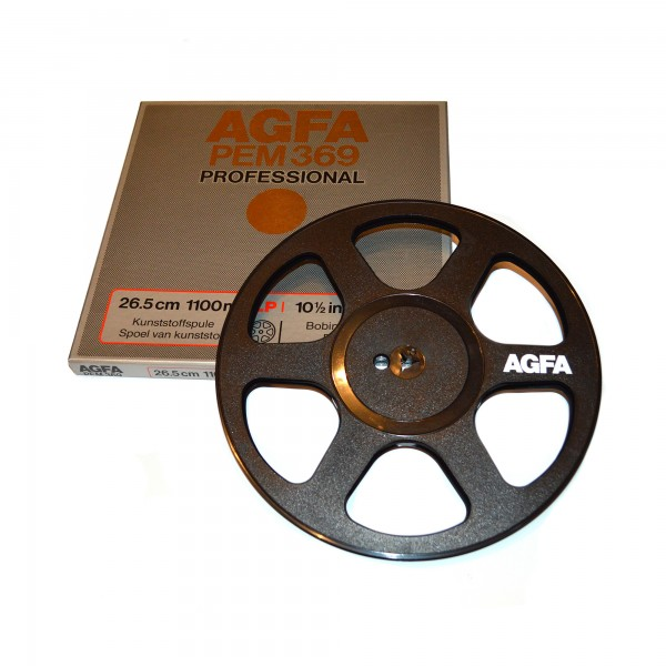 AGFA PEM 369 Professional 267 mm Kunststoff-Leerspule