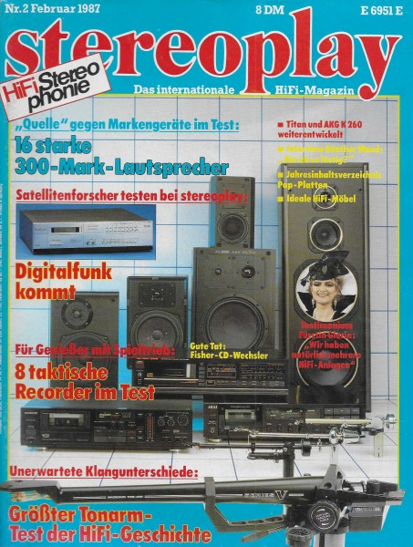 Stereoplay 2/1987 Cover
