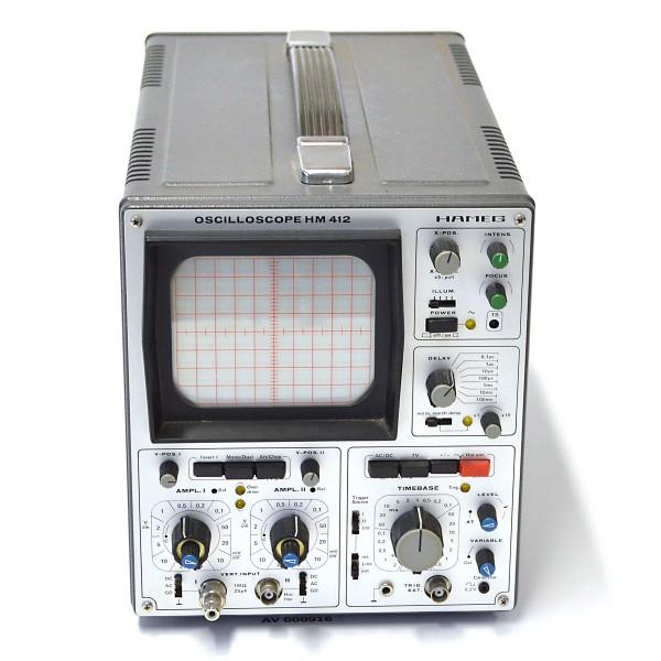 Hameg_Oscilloscope HM 412_1