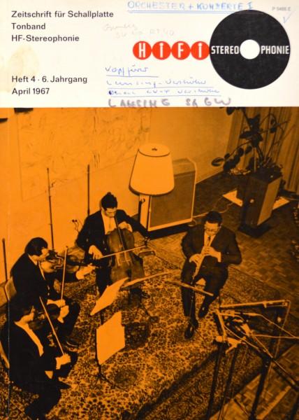 Hifi Stereophonie_4/1967 Zeitschrift_1