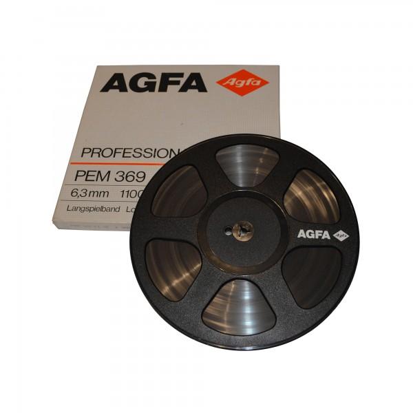 AGFA PEM 369 Professional 267 mm Kunststoff-Tonband mit Band