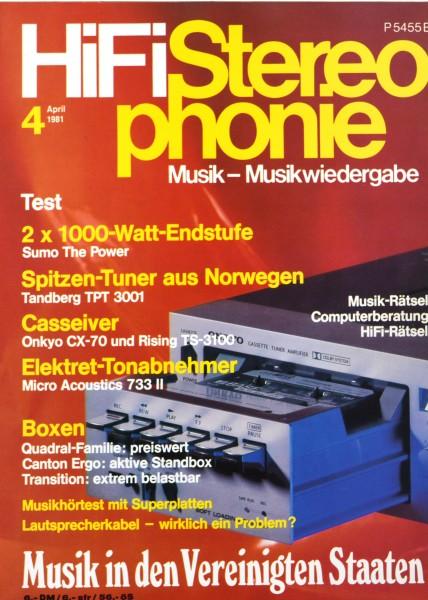 Hifi Stereophonie_4/1981 Zeitschrift_1