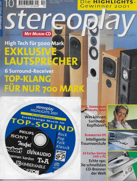 Stereoplay 10/2001 Cover