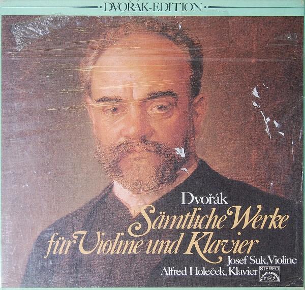 Antonín Dvorák - Sämtliche Werke für Violine und Klavier