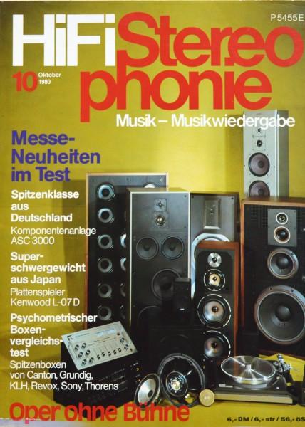 Hifi Stereophonie_10/1980 Zeitschrift_1