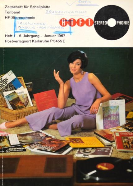 Hifi Stereophonie_1/1967 Zeitschrift_1