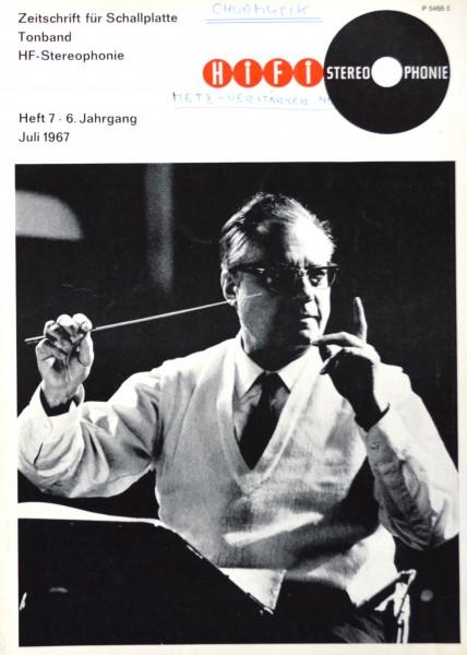 Hifi Stereophonie_7/1967 Zeitschrift_1