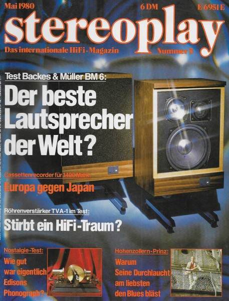 Stereoplay 5/1980 Cover