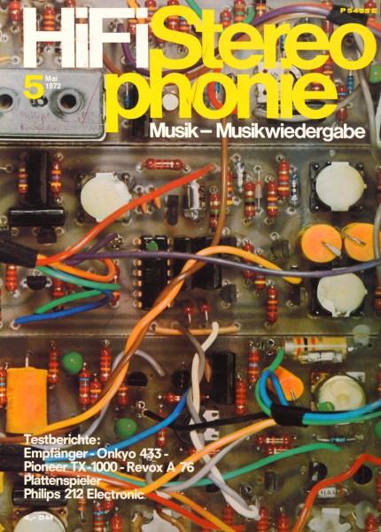 Hifi Stereophonie_5/1972 Zeitschrift_1
