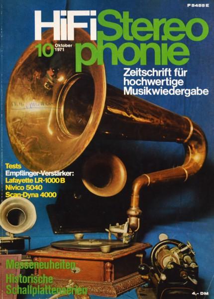 Hifi Stereophonie_10/1971 Zeitschrift_1