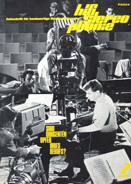 Hifi Stereophonie_7/1969 Zeitschrift_1