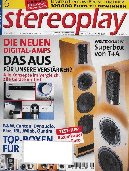 Stereoplay 6/2002 Cover