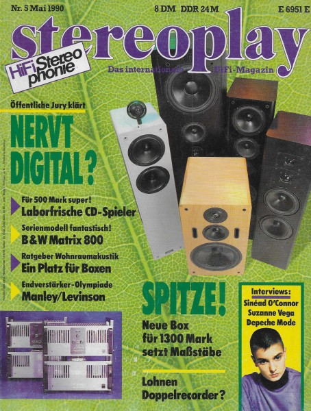Stereoplay 5/1990 Cover