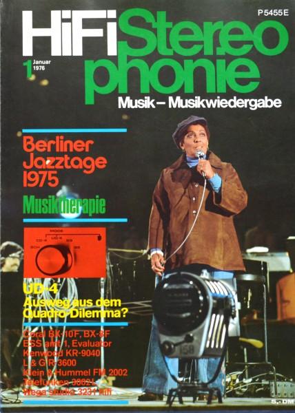 Hifi Stereophonie_1/1976 Zeitschrift_1