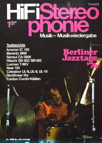Hifi Stereophonie_1/1977 Zeitschrift_1