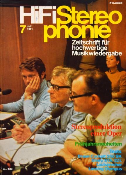 Hifi Stereophonie_7/1971 Zeitschrift_1