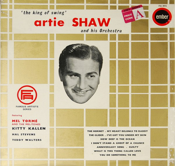 Artie Shaw - The best of Artie Shaw/Famous Artists Series