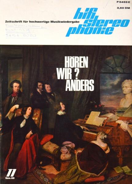 Hifi Stereophonie_11/1969 Zeitschrift_1