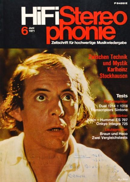 Hifi Stereophonie_6/1971 Zeitschrift_1