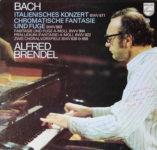 Bach/Alfred Brendel - Italienisches Konzert etc.