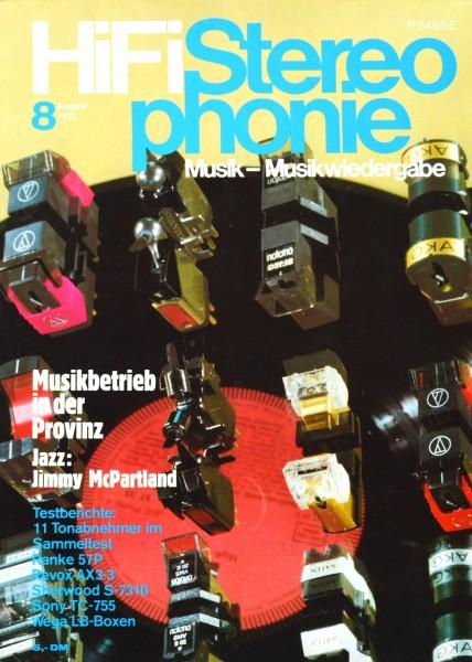 Hifi Stereophonie_8/1975 Zeitschrift_1