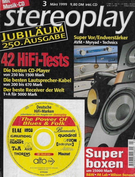 Stereoplay 3/1999 Cover