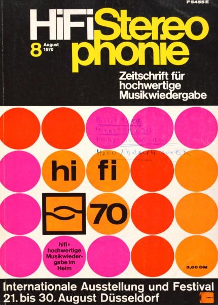 Hifi Stereophonie_8/1970 Zeitschrift_1