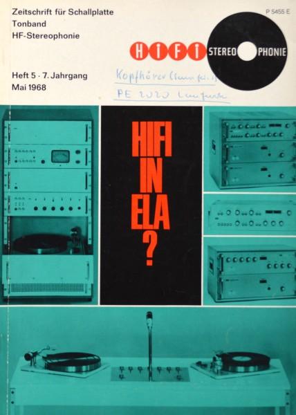 Hifi Stereophonie_5/1968 Zeitschrift_1