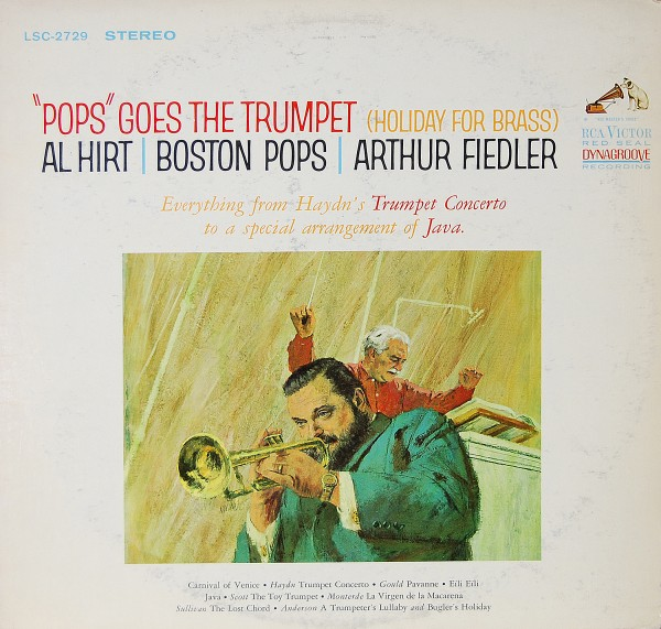 "Alan Fiedler/Boston Pops Orchestra - ""Pops"" goes the Trumpet"