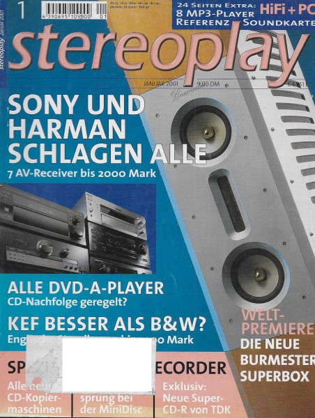 Stereoplay 1/2001 Cover
