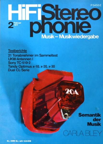 Hifi Stereophonie_2/1977 Zeitschrift_1