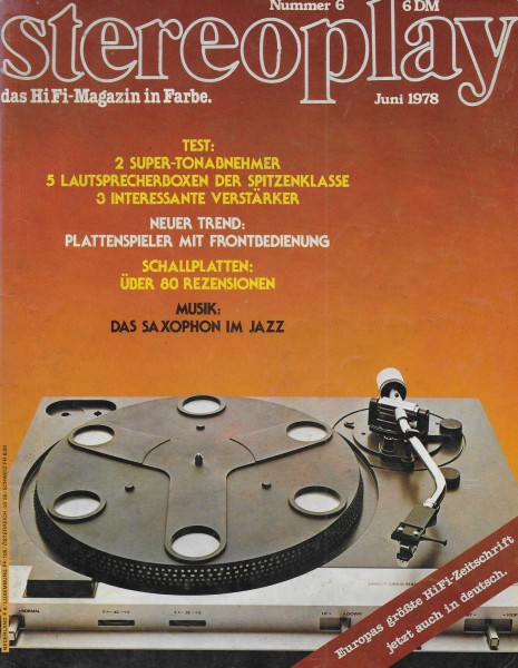Stereoplay 6/1978 Cover