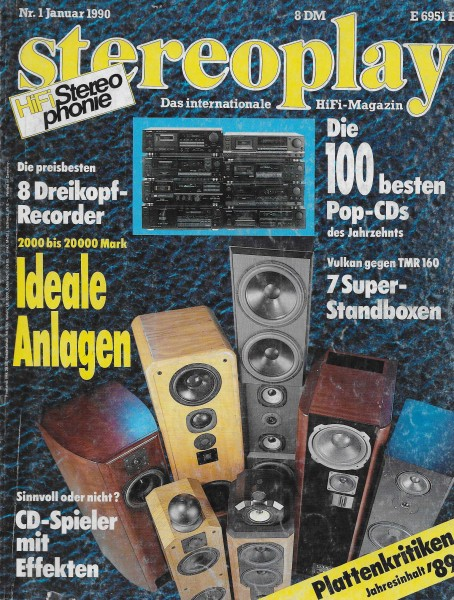 Stereoplay 1/1990 Cover