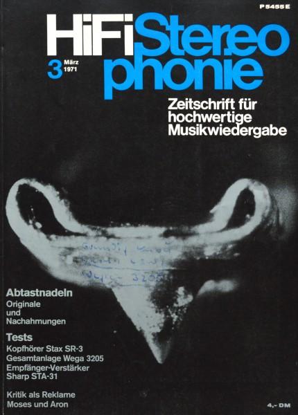 Hifi Stereophonie_3/1971 Zeitschrift_1