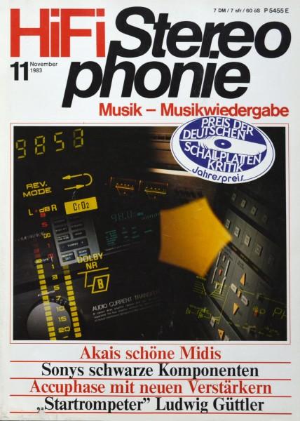 Hifi Stereophonie_11/1983 Zeitschrift_1
