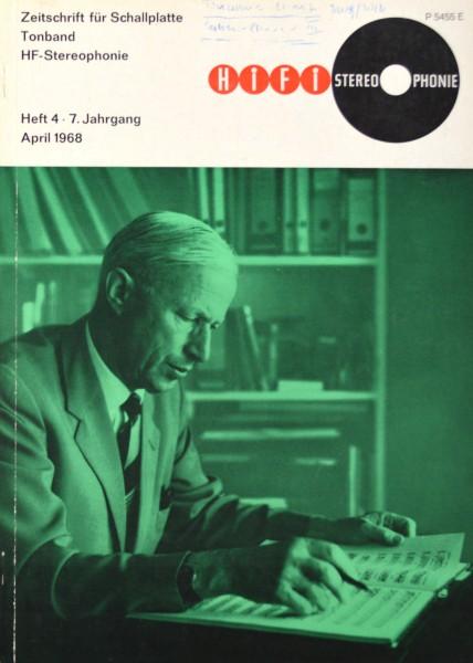 Hifi Stereophonie_4/1968 Zeitschrift_1