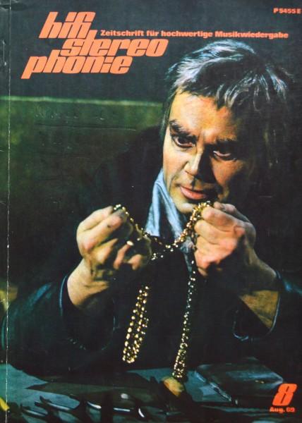 Hifi Stereophonie_8/1969 Zeitschrift_1
