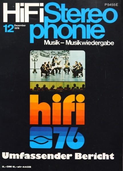Hifi Stereophonie_12/1976 Zeitschrift_1