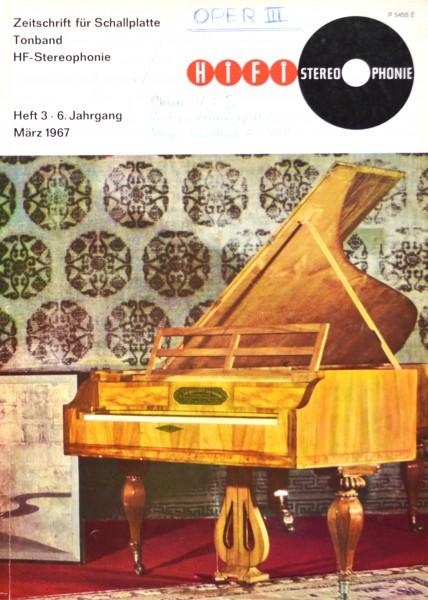 Hifi Stereophonie_3/1967 Zeitschrift_1