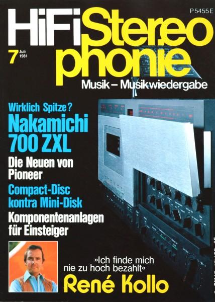 Hifi Stereophonie_7/1981 Zeitschrift_1