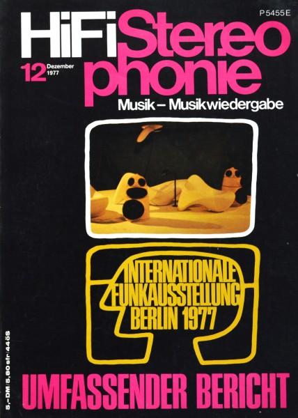Hifi Stereophonie_12/1977 Zeitschrift_1
