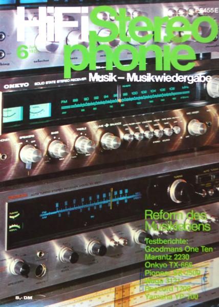 Hifi Stereophonie_6/1973 Zeitschrift_1