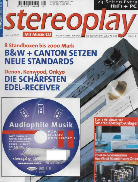 Stereoplay 1/2002 Cover